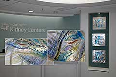 Commercial Art Glass Installation