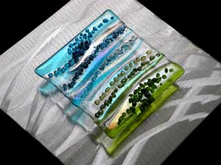Fused Glass Wall Art available for purchase