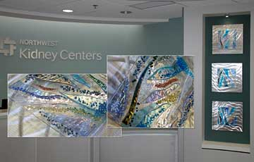 Northwest Kidney Center Tryptych